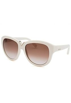 Valentino - Ivory Oversized Sunglasses