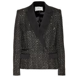 By Malene Birger  - Devaki Sequinned Bouclé Blazer
