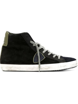 Philippe Model - Panelled Hi-Top Sneakers