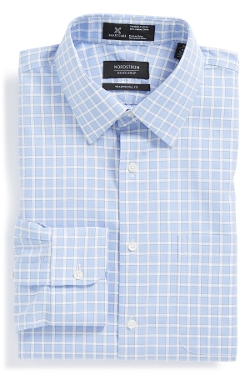 Nordstrom  - Smartcare Traditional Fit Check Dress Shirt