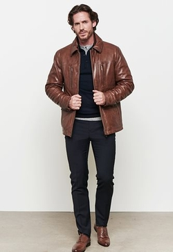 Danier - Wentworth Lamb Leather Bomber