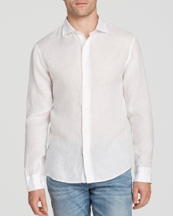 Michael Kors  - Linen Button Down Shirt