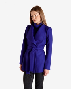 Ted Baker London - Paria Short Wool Wrap Coat