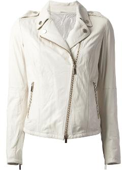 AD UNUM  - zipped biker jacket