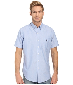 U.S. Polo Assn.  - Short Sleeve Button Down Oxford Shirt
