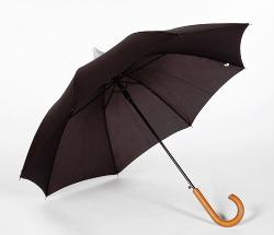 Frankford - Black Telescoping Automatic Open Umbrella