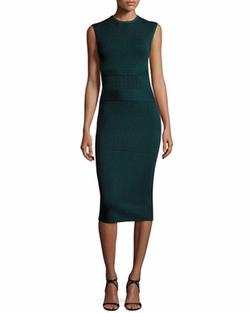 Narciso Rodriguez - Sleeveless Knit Sheath Dress