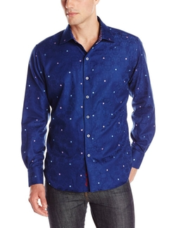 Robert Graham  - Wave Long-Sleeve Button Down Shirt