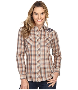 Roper - Plaid Embroidery Shirt