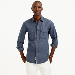 J. Crew - Irish Linen-Cotton Field Shirt
