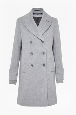 French Connection - Double Breast Boyfriend Coat