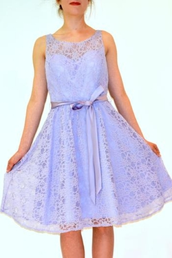 Marina - Lilac Lace Sundress