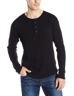 Nudie Jeans - Organic Long-Sleeve Henley Shirt