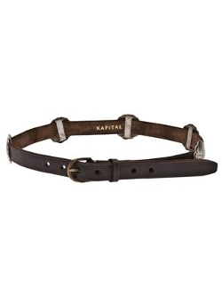 Kapital - Distressed Leather Belt