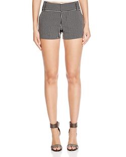 Alice + Olivia  - Cady Striped Shorts