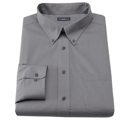 Croft & Barrow - Slim-Fit Solid Button-Down Collar Dress Shirt