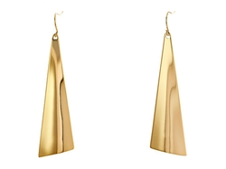 Robert Lee Morris  - Large Triangle Drop Earrings