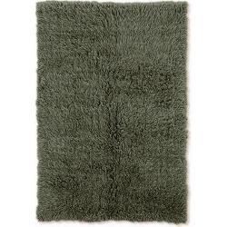 Linon Home Decor - Flokati Olive Area Rug