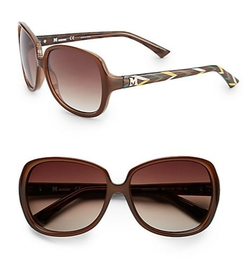 Missoni Square - Printed Temple Sunglasses