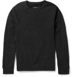 ALEXANDER WANG   - COTTON-BLEND JERSEY SWEATSHIRT