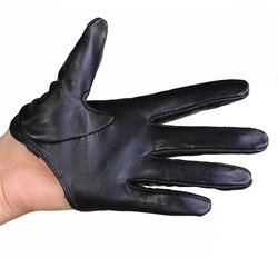 Borgasets - Leather Half Palm Gloves