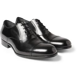 Lanvin   - Leather Oxford Shoes