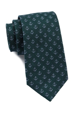Ben Sherman  - Anchor Print Tie