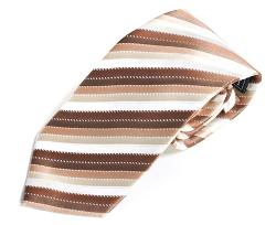 Absolute Ties - Boys Brown Stripe Ties