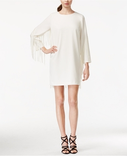 Kensie - Fringed Shift Dress