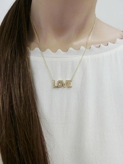 Jennifer Meyer - Diamond Love Necklace