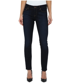 7 For All Mankind - The Mid Rise Skinny W/ Tonal Squiggle