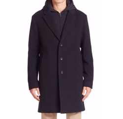 Vince  - Wool Blend Coat
