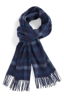 Nordstrom - Large Plaid Wool Scarf