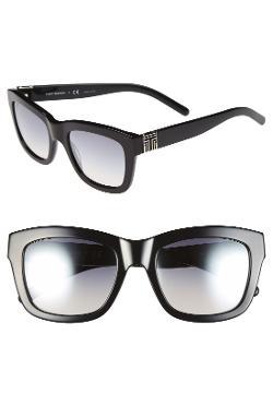 Tory Burch  - 52mm Square Sunglasses