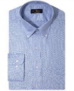 Club Room - Solid Long-Sleeved Shirt