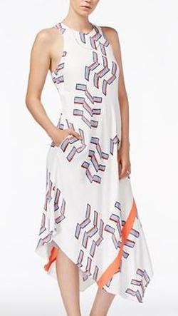 Rachel Rachel Roy - Printed Midi Dress