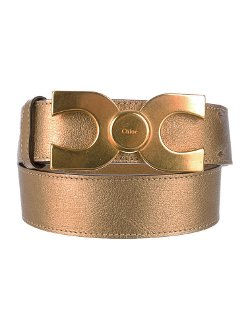 Chloé  - Metallic Belt