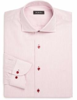 Saks Fifth Avenue Collection  - Regular-Fit Striped Dress Shirt