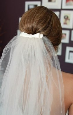 Gorgeous Lace Veils - Bow Wedding Veil