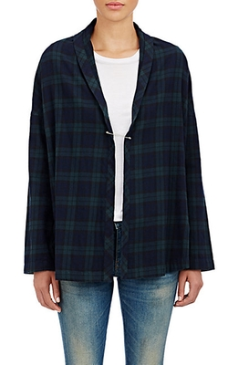 6397 - Flannel Shawl Cardigan