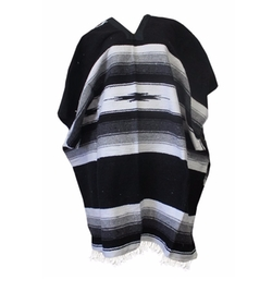 Del Mex  - Mexican Diamond Woven Eastwood Poncho