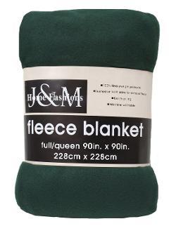 J & M Home Fashions  - Fleece Blanket