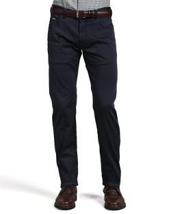 Armani Collezioni  - 5-Pocket Twill Pants, Navy