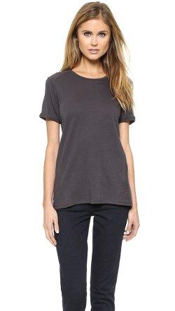 Vince  - Texture Blocked T-Shirt