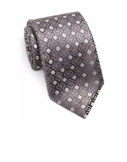 Charvet - Large Pattern Silk Tie