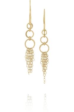 Melissa Joy Manning - Cascading Chain Drop Earrings