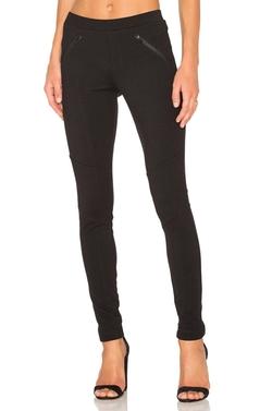 Bobi - Stretch Twill Zipper Pocket Legging Pants
