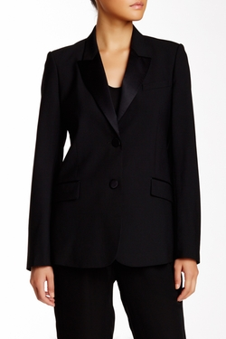 Theory  - Jingle Solid Wool Blend Blazer