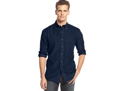 Club Room  - Long-Sleeve Corduroy Shirt