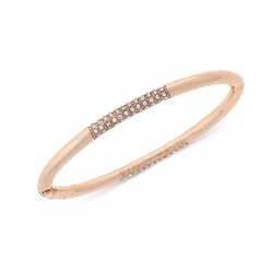 Vince Camuto - Rose Gold-Tone Pavé Bangle Bracelet